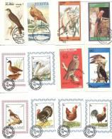 Lot De 20 Blocs Non Dentelés Différents  -   Thèmes Oiseaux - Timbres