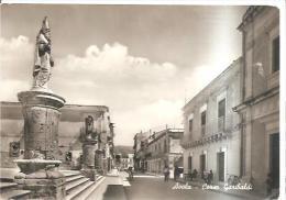 79948) Cartolina  Avola   Corso Garibaldi   In Movimento(sr) Viaggiata - Ragusa