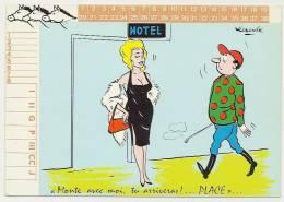 *** Tiercé PMU Jockey Humour Prostitution Illustrateur ALEXANDRE N°7 - Alexandre