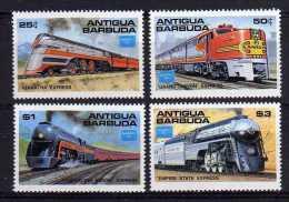 "Antigua - 1986 - ""Ameripex 86"" Famous American Trains - MNH - Antigua Et Barbuda (1981-...)"