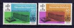 New Hebrides (Fr) - 1966 - New WHO Headquarters - MH - Légende Française