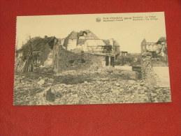 HOUTHULST -  Het Dorp  - Woud Van Houthulst 1914-18 - Houthulst