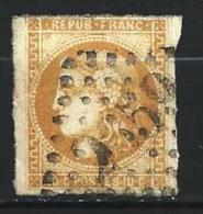 """YT 43B """" Bordeaux Cérès 10c. Bistre Orangé """" 1871 Losange 2659 - 1870 Bordeaux Printing"""