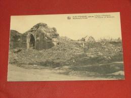 HOUTHULST  -  Kerk  - Woud Van Houthulst 1914-18 - Baelen