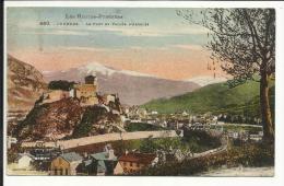 LOURDES , Le Fort Et La Vallée D' Argelès , 1926 - Lourdes