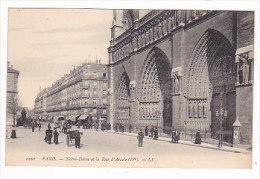 PARIS       Notre  Dame  Et Rue  D' Arcole - Non Classés