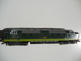SCALA 00 - LIMA Loco Diesel Inglese DELTIC. Livrea Giallo Verde. - Locomotives