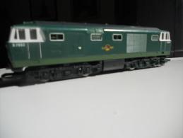 SCALA 00 - Hornby Loco Diesel Inglese HIMECK. Livrea Giallo Verde. - Locomotieven