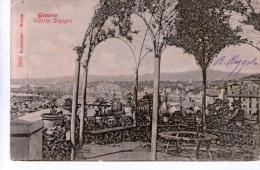 """Cartolina D´epoca (Formato Piccolo ) """" Genova - Villetta Dinegro """" - Genova (Genoa)"""