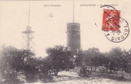 CPA 33 @ ARCACHON @ Le SEMAPHORE En 1908 @ Phare - Arcachon