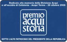 *ITALIA: PREMIO ACQUI STORIA* - Scheda Usata - Italia