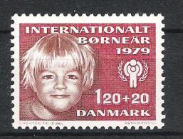 Dänemark 1979 Mi# 676 Jahr Des Kindes YEAR OF THE CHILD - Dänemark
