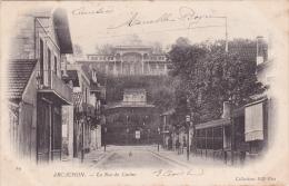CPA 33 @ ARCACHON @ La Rue Du Casino En 1903 @ - Arcachon