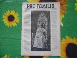 PRO FAMILIA N.153 1903 VENEZIA ESPOSIZIONE ARTE CANTON TICINO BELLINZONA MONTE GUADAGNOLO MILANO - Sociedad, Política, Economía