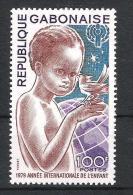 Gabun 1979 Mi# 706 Jahr Des Kindes YEAR OF THE CHILD - Gabun (1960-...)