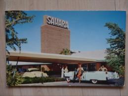 LAS VEGAS HOTEL SAHARA VOITURE - Las Vegas