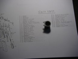 Bouchon Du Canon   Pour 45 ACP - Decorative Weapons