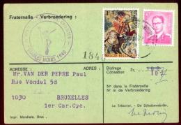 """Fraternelle Des Carabiniers Cyclictes """"Diables Noirs""""- 1973. - Libri, Riviste & Cataloghi"""