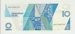 Aruba 10 Florin 1990 Pick 7 UNC - Aruba (1986-...)