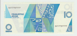 Aruba 10 Florin 1990 Pick 11  UNC - Aruba (1986-...)