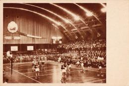 """UN MATCH De VOLLEYBALL : SALLE De SPORT """" FLOREASCA """" à BUCAREST / ROUMANIE - ANNÉE ~ 1950 - 1955 (l-415) - Volleyball"""