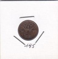 20 Centimes Bronze BAUDOUIN 1953 FR - 01. 20 Centimes