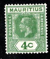 2549x)  Mauritius 1926 - SG #225   M*  ( Catalogue £1.75 ) - Maurice (...-1967)