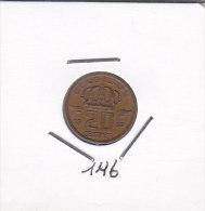 20 Centimes Bronze BAUDOUIN 1957 FR - 01. 20 Centimes