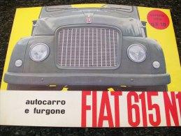 DEPLIANT/BROCHURE   FIAT 615 N1 - Camions