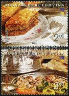Bosnia & Herzegovina - Sarajevo - 2005 - Europa CEPT - Gastronomy - Mint Stamp Set - Bosnia Erzegovina