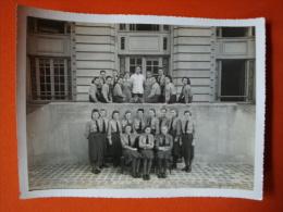 44. Soldatenfoto/ 2. Weltkrieg,  Bitte Anschauen, Nachrichtenmelderin, Abzeichen.! Größe Ca. 23,8 Cm X 18,0 Cm ! - 1939-45