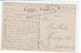 POW-Post Aus Dem Depot De Quiberon 22.1.17 - Storia Postale