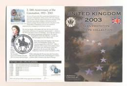 Plaquette Essais   -     Ecosse 2003   -     24000 Expl. - Essais Privés / Non-officiels