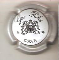 PLACA DE CAVA GIRO RIBOT  DESCENTRADA  MUY RARA (CAPSULE) Viader:0473 - Placas De Cava
