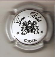 PLACA DE CAVA GIRO RIBOT  MUY RARA (CAPSULE) Viader:0473 - Placas De Cava