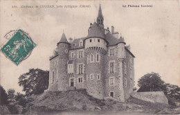 Ag - Cpa Château De COUZAN, Près Antignac (Cantal) - Other Municipalities