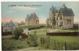 LE HOME SUR MER (14) Vue Des Villas Nommées Manon Et Besançon - Cabourg