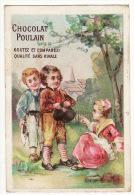 CHROMO Chocolat Poulain Fille Garçons Village Campagne - Poulain