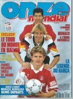 ONZE Mondial N° 59 DECEMBRE 1993 - SCIFO / KLINSMANN / PETIT - Sport