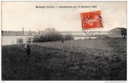 CPA  -    BALBIGNY  (42)    Inondations Du 17 Octobre 1907 - Sin Clasificación