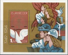 OOST-DUITSLAND MI.NR.BLOCK 79  MNH / POSTFRIS / NEUF SANS CHARNIERE 1984 - [6] Oost-Duitsland