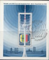 OOST-DUITSLAND MI.NR.BLOCK 30 USED / GEBRUIKT / OBLITERE 1969 - [6] Oost-Duitsland
