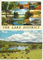 LAKESIDE PIER Windermere Lake District Cumbria 2 Cards - Non Classés