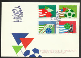 Angola FDC 1994 Coupe Du Monde De Football États Unis Angola FDC 1994 Soccer World Cup United States - World Cup