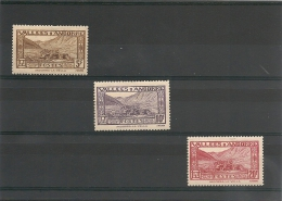 ANDORRE Année 1932/33 N° Y/T 43/44* Et 45**