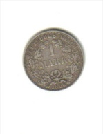 1 MARK (ARGENT) 1886 A - Empire Allemand - Unclassified