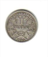 1 MARK (ARGENT) 1902 D - Empire Allemand - Unclassified