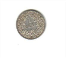 1 MARK (ARGENT) 1910 F - Empire Allemand - Unclassified