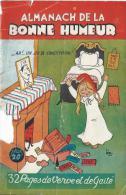 Almanach De La Bonne Humeur /32 Pages De Verve Et De Gaité/  1946  ELECT7 - Unclassified