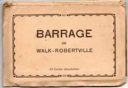 25531  -   Barrage De  Walk-Robertville   Carnet  10  Cartes - Waimes - Weismes